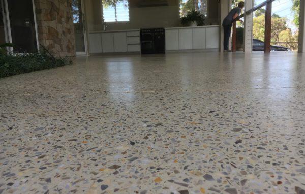 Honed Concrete