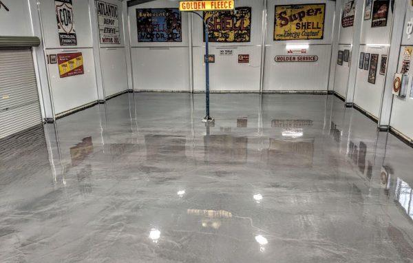reflective epoxi-flooring